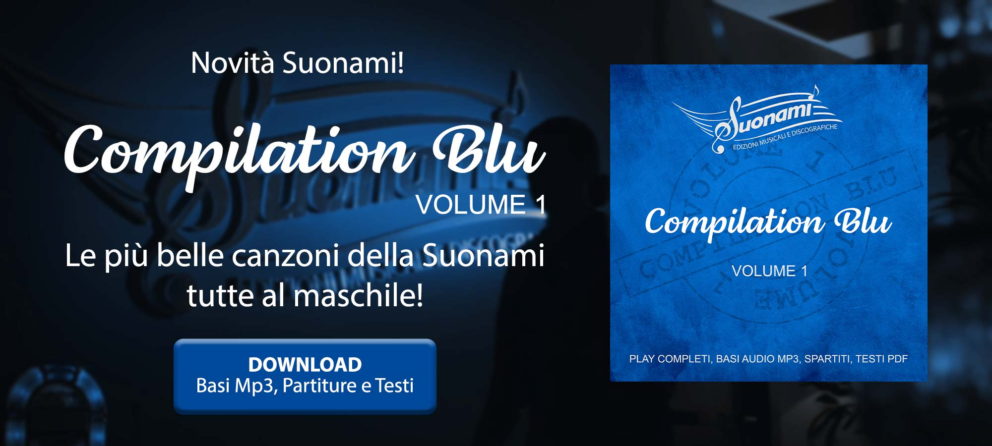 SUONAMI - Compilation Blu - Volume 1